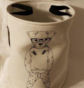 New Hipster Doggie Laundry Hamper